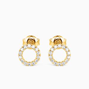 10K Gold The Fairy Tale Jewelry Earrings