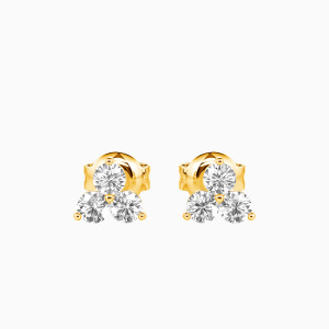 10K Gold My Promise To You Jewelry Earrings
