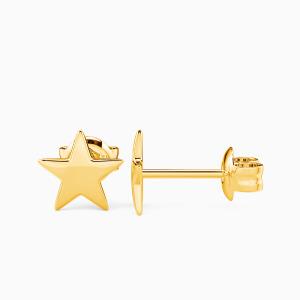 10K Gold The Sea Of Stars Jewelry Earrings