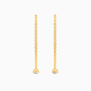 10K Gold Love Paradise Jewelry Earrings