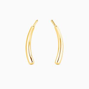 10K Gold Fall Into Beauty Jewelry Earrings