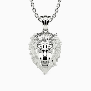 10K White Gold  My King Forever Jewelry Men's Jewelry