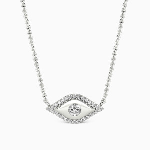 10K White Gold Believe Me Jewelry Necklaces