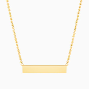 10K Gold Love Is All in All Jewelry Necklaces