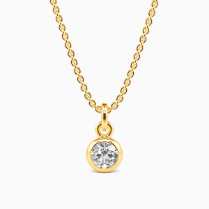 10K Gold Growing Fond Of You Jewelry Necklaces