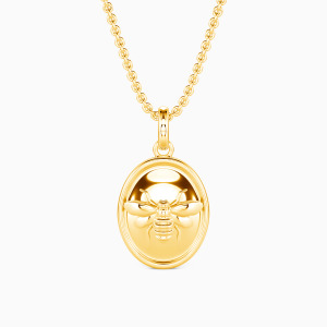 10K Gold Bee Yourself Jewelry Necklaces