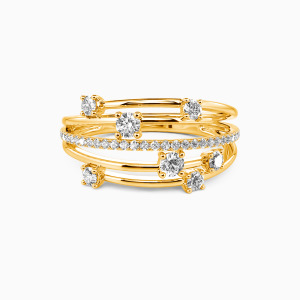 14K Gold The One Wedding Classic Bands