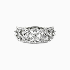 14K White Gold My Pride And Joy Wedding Classic Bands