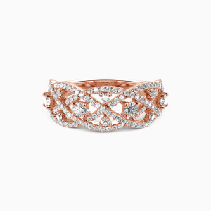 18K Rose Gold My Pride And Joy Wedding Classic Bands