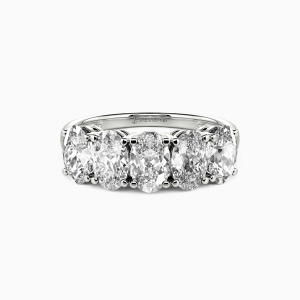 18K White Gold My Sanity Wedding Classic Bands