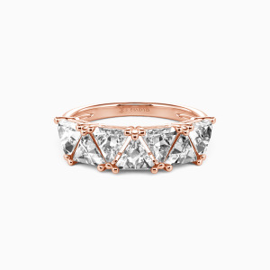 14K Rose Gold My Other Half Wedding Classic Bands