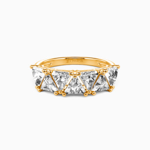 18K Gold My Other Half Wedding Classic Bands