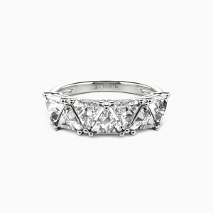 18K White Gold My Other Half Wedding Classic Bands