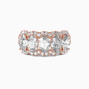 14K Rose Gold Our Bond Wedding Classic Bands