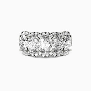 14K White Gold Our Bond Wedding Classic Bands