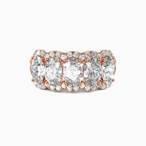 18K Rose Gold Our Bond Wedding Classic Bands