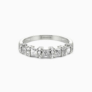 10K White Gold My Galaxy Wedding Classic Bands