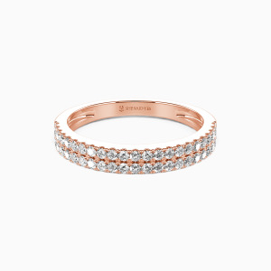14K Rose Gold My One and Only Wedding Classic Bands
