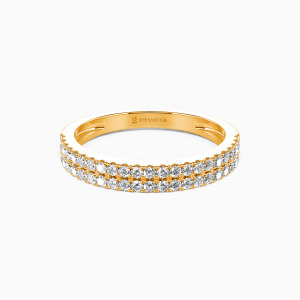 18K Gold My One and Only Wedding Classic Bands