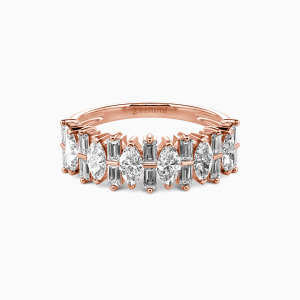 18K Rose Gold My Other Half Wedding Classic Bands