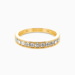 14K Gold My Bright Star Wedding Classic Bands