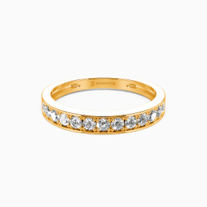 18K Gold My Bright Star Wedding Classic Bands