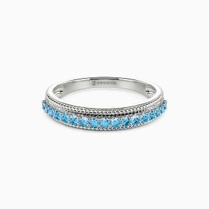 10K White Gold The Power Of Love Wedding Classic Bands