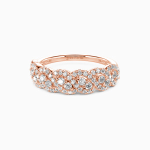 10K Rose Gold Just the Way You Are Wedding Classic Bands