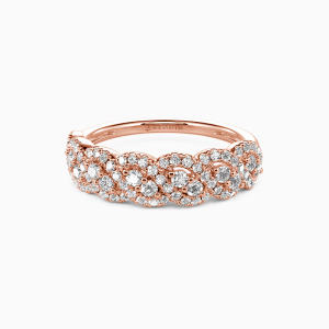 18K Rose Gold Just the Way You Are Wedding Classic Bands