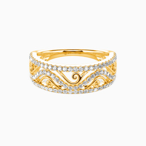 14K Gold My All Wedding Classic Bands