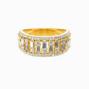 10K Gold My Sunshine Wedding Classic Bands