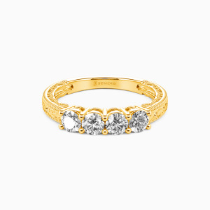 10K Gold Never Apart Wedding Classic Bands