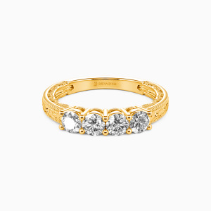 14K Gold Never Apart Wedding Classic Bands