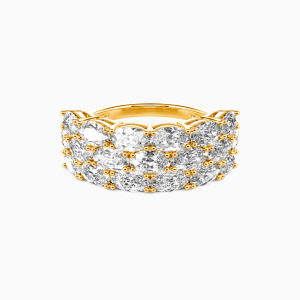 14K Gold The Love Of My Life Wedding Classic Bands