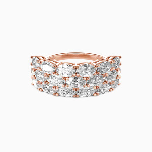 14K Rose Gold The Love Of My Life Wedding Classic Bands