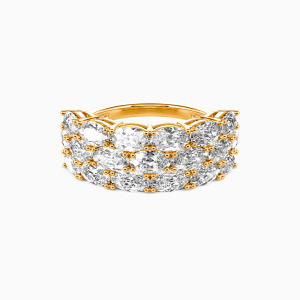 18K Gold The Love Of My Life Wedding Classic Bands