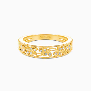10K Gold I Love You More Wedding Classic Bands