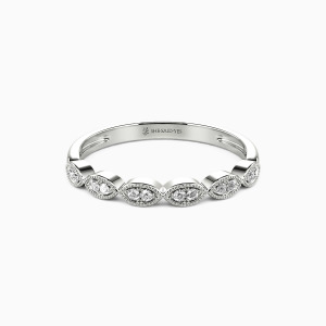 10K White Gold You Are The Best Wedding Classic Bands