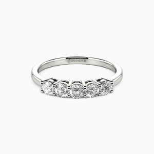 10K White Gold Dreamboat Wedding Classic Bands