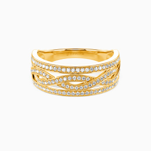 14K Gold You Complete Me Wedding Classic Bands