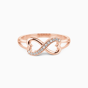 10K Rose Gold All My Love, All My Life Wedding Classic Bands