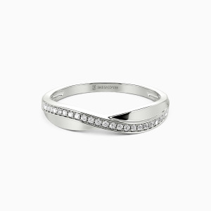 10K White Gold Fate For A Lifetime Wedding Classic Bands