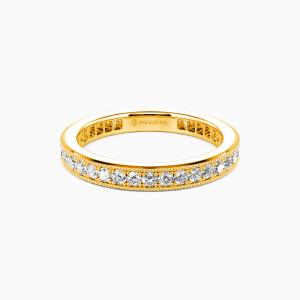10K Gold Amor para Siempre Wedding Eternity Bands