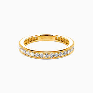 14K Gold Amor para Siempre Wedding Eternity Bands