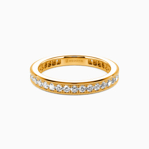 18K Gold Amor para Siempre Wedding Eternity Bands