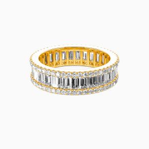 10K Gold Best Memories Wedding Eternity Bands