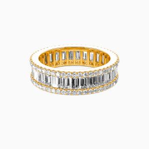 14K Gold Best Memories Wedding Eternity Bands