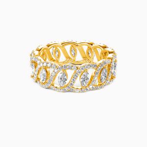 10K Gold My Treasure Wedding Eternity Bands