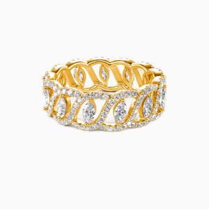 14K Gold My Treasure Wedding Eternity Bands