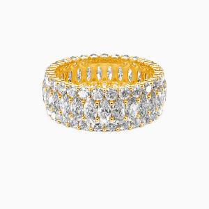 10K Gold Love Always Wedding Eternity Bands
